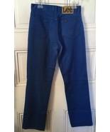 Vintage Lee Royal Blue Cotton/Poly Jeans - $19.95