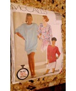 McCall Women's # 4826 Size 18-20 LARGE Pattern Pieces 1990 Sewing The 90... - $7.91