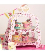SANDWICH CAKE STAND Two Tier High Tea Stand, Useful for all Ocassions - $11.99
