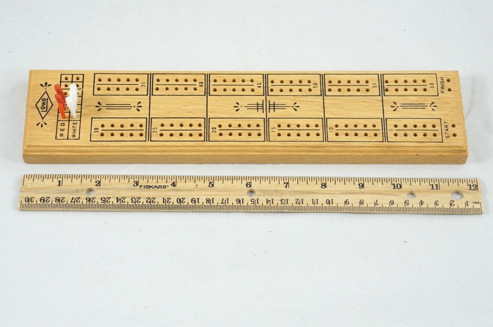 Vintage 1968 Lowe Wood Cribbage Board With And 50 Similar Items