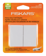 Lot of 2x Fiskars Heavy Duty Craft Staples Refill Replacement Pack 2000/Pkg NEW image 2