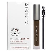 Wunderbrow Eyebrow Gel Perfect Eyebrows In 2 Mins Wonderbrow - Black Bro... - $28.48
