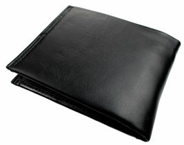 Guess Men's Leather Credit Card Id Wallet Passcase Bifold Black 31GU22X030 image 3