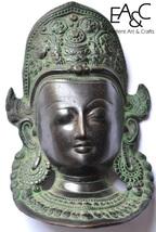 Brass Made Goddes Tara Face Statue - $29.00
