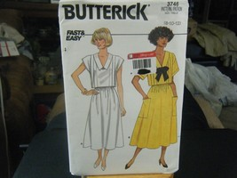 Butterick 3746 Misses Top & Skirt Pattern - Size 8/10/12 - $6.66
