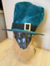 Kobold Kostüm Grün samt Hut Rot Bart St.Patricks Tag - €13,00 EUR