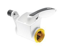 New!! Zyliss Cheese Grater White Dishwasher Safe Ergonomic grip E900010U - $419,14 MXN