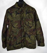 J Crew Quilted Jacket Military Camo Camouflage Coat M Mens - $99.00