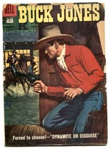 Buck Jones- Four Color Comics #850 1957 G- - $27.74