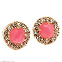 Kate Spade WBRU7896 Secret Garden Red Gold Studded Earrings - $27.62