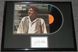 Bobby Vinton Signed Framed 18x24 Greatest Hits Vintage Album Display - $83.79
