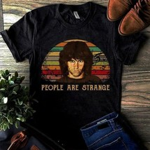 People Are Strange Vintage Men Shirt Black Cotton S-6XL Made in USA - $12.99