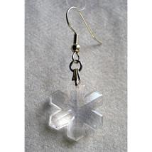 Crystal Snowflake Earrings image 1