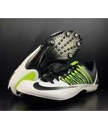 Nike Zoom Celar 5 Unisex Track Spikes w/ Bag 629226-107 White Volt Size 8.5 - $59.39