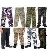 Camouflage Kids Military BDU Cargo Polyester/Co... - $34.99