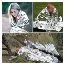 Outdoor Emergency Survival Rescue First Aid Rescue Blanket Sleeping A12 - $3.99