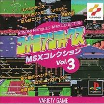 Konami Antiques Msx Collection Vol.3 Ps Import Japan - $108.70