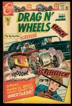 Drag N' Wheels #31 1968 Charlton Comics Racing Hearse Vg - $31.53
