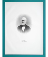 MYRON H TILDEN Ohio Superior Court Judge - 1883 Superb Portrait Print - $19.80