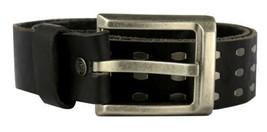 NEW LEVI'S MEN'S STYLISH CLASSIC GENUINE LEATHER BELT BLACK 11LV1204 SIZE S