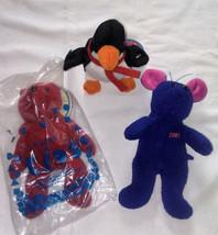 Avon Plush Toys Lot 3 with VERY RARE Penguin! - $35.00