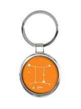 Gemini : Keychain Zodiac Signs Esoteric Horoscope Astrology Gift - £6.04 GBP