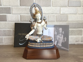 Lladro 01001926 White Tara Retired 2017 Limited Edition Perfect Condition - $1,200.00