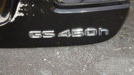 06-11 Lexus GS450H GS 300 350 430 460 450H (S190) Trunk Lid W/ Camera image 4