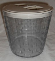 Longaberger Large Sealed Lidded Storage Canister Basket Protector Only S... - $24.70