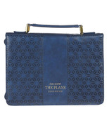 Bible Cover Brand NEW For I Know The Plans Medium Blue 9 5/8x 6 5/8x 1 3/4 - $26.53