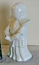 Benihana Samurai Ninja Drink Mug Bud Vase Planter White Porcelain Tokyo ... - $32.66