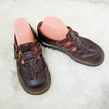 Doc Martens Double Strap Mary Janes Leather Made In England Womens 9 - $34.60