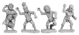 15mm: Gaestati w/Spears (Random 8 of 4 Designs)