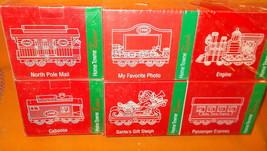 J.C Penney Home Towne Express Train 1998 Edition Set  6 Pieces  UPC:0339... - $24.75