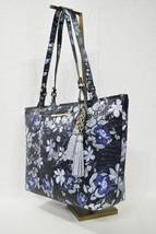 NWT Brahmin Medium Asher Leather Tote/Shoulder Bag in Navy Madeleines - $289.00