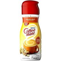 Nestle Coffee Mate Hazelnut Flavor 16 oz ( Pack of 12 ) - $59.39