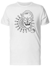 Cool Hipster Sailor Skull Men's Tee -Image by Shutterstock - $9.86+