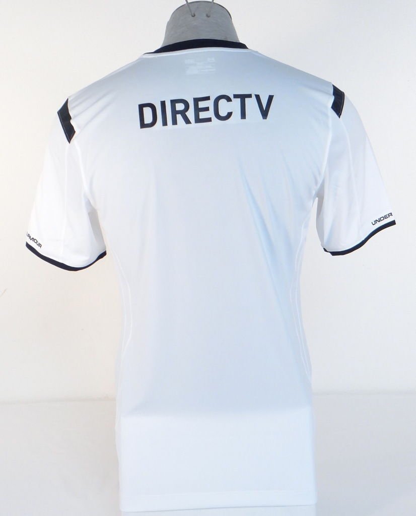 Under Armour Colo Colo Chilean Football Club White Short Sleeve Jersey Men s  NWT d84430076