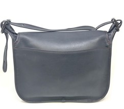 Coach Saddle Bag Glovetanned Leather Nickle Bla... - $345.51