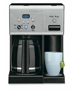 2-in-1 BPA-Free 12-Cup Coffee Maker Programmable Brewer w/ Hot Water Dis... - $141.52