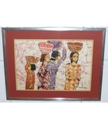 LISTED MALAYSIAN ARTIST LEE LONG LOOI WATERCOLOR PAINTING ON RICE PAPER - $1,499.00