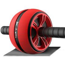 Loogdeel  ABS Abdominal Roller Exercise Wheel Fitness Equipment Mute Rol... - $29.96