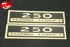 Chevy 250 Turbo Thrift Valve Cover Decal - $18.75
