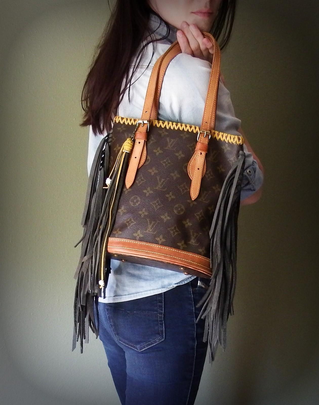 Authentic Fringe Boho Bucket Bag And 50 Similar Items