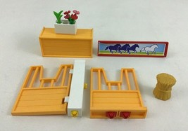 Playmobil 4190 Riding Stables Horse Farm Replacement Stable Doors Pieces... - $12.82