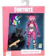 McFarlane Toys - Fortnite Cuddle Team Leader Figure - Black/White/Pink - $35.82
