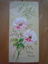 Vintage Birthday Happiness Greeting Card   - $3.99