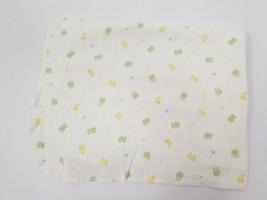 Carters Cotton Flannel Security Blanket Lovey Frogs Ducks Butterflies 31... - $14.84