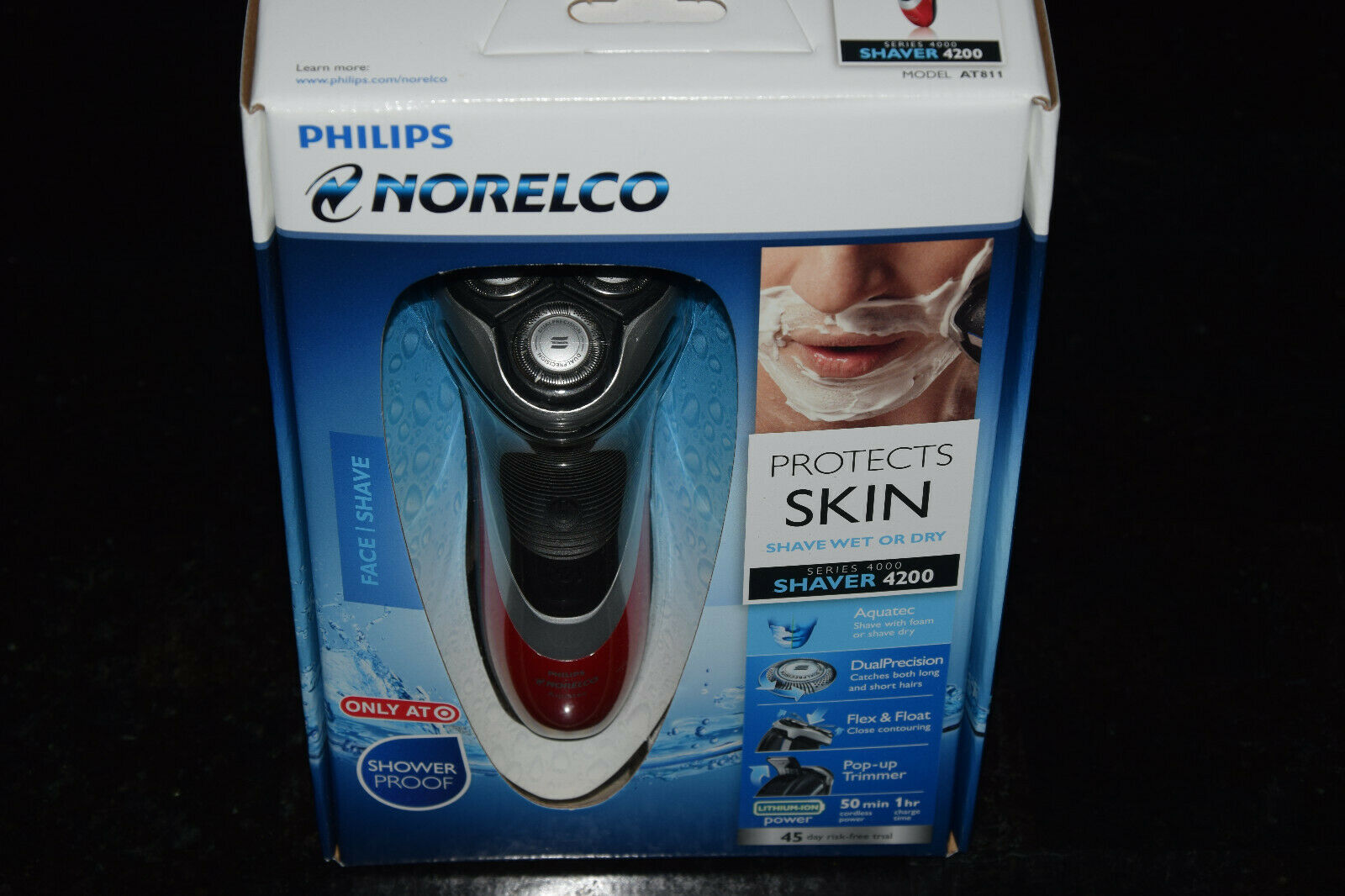 Primary image for Philips Norelco Series 4000 4200 AT811/41 Cordless Men's Electric Wet/Dry Shaver