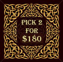 MON-TUES Pick 2 For $180 Includes No Deals & Mystical Treasures - $200.00